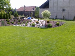Realizace zahrady u RD Brno - Kociánka