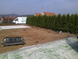 Realizace zahrady u RD Brno - Ivanovice II
