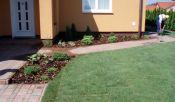 Zahrada po dokončení